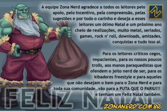 Natal Nerd by Zona Nerd