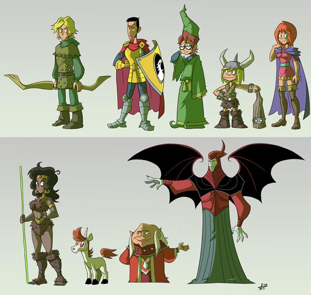 caverna do dragao remake