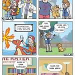 A diferença de um pokémon e um animal de estimação