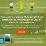 Acessórios inusitados nas Copas do Mundo