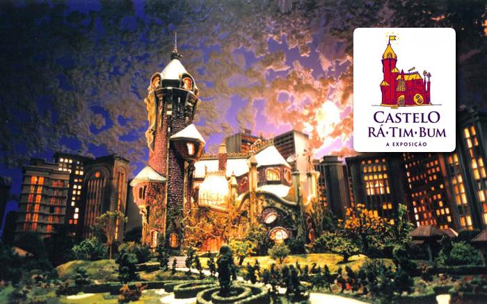 castelo ra rim bum exposicao