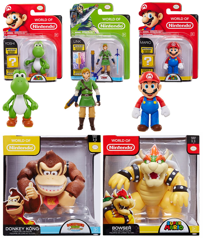 action figure nintendo jakks