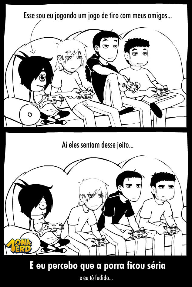 gamers a porra ficou seria