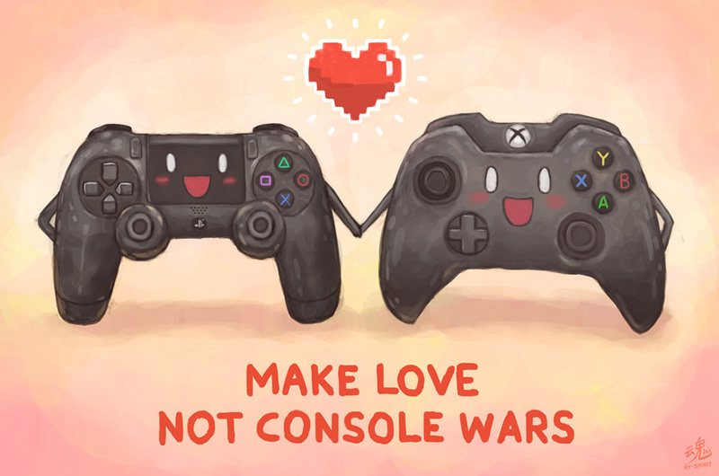 make love not console wars