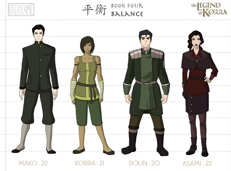 avatar livro 4 personagens