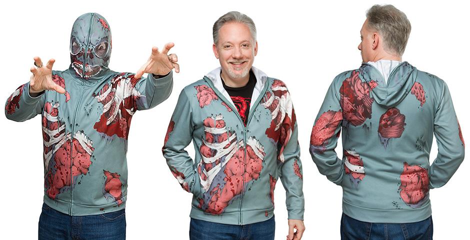 blusa do ataque de zumbi