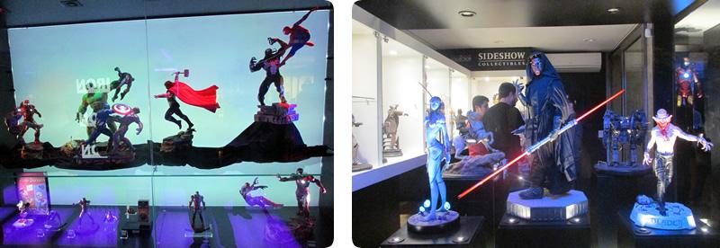 iron studios concept store sao paulo vingadores