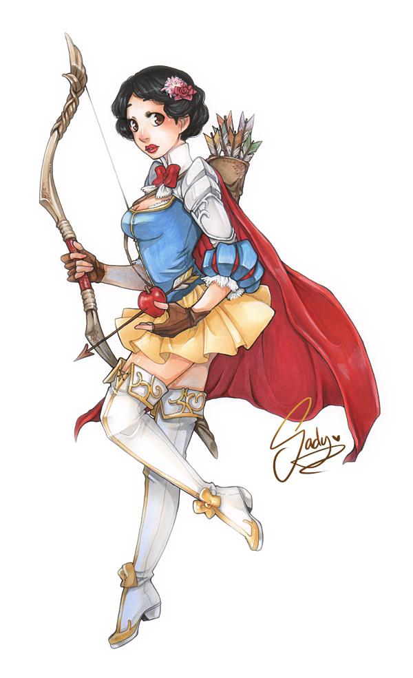 princesas disney medieval guerreiras 1