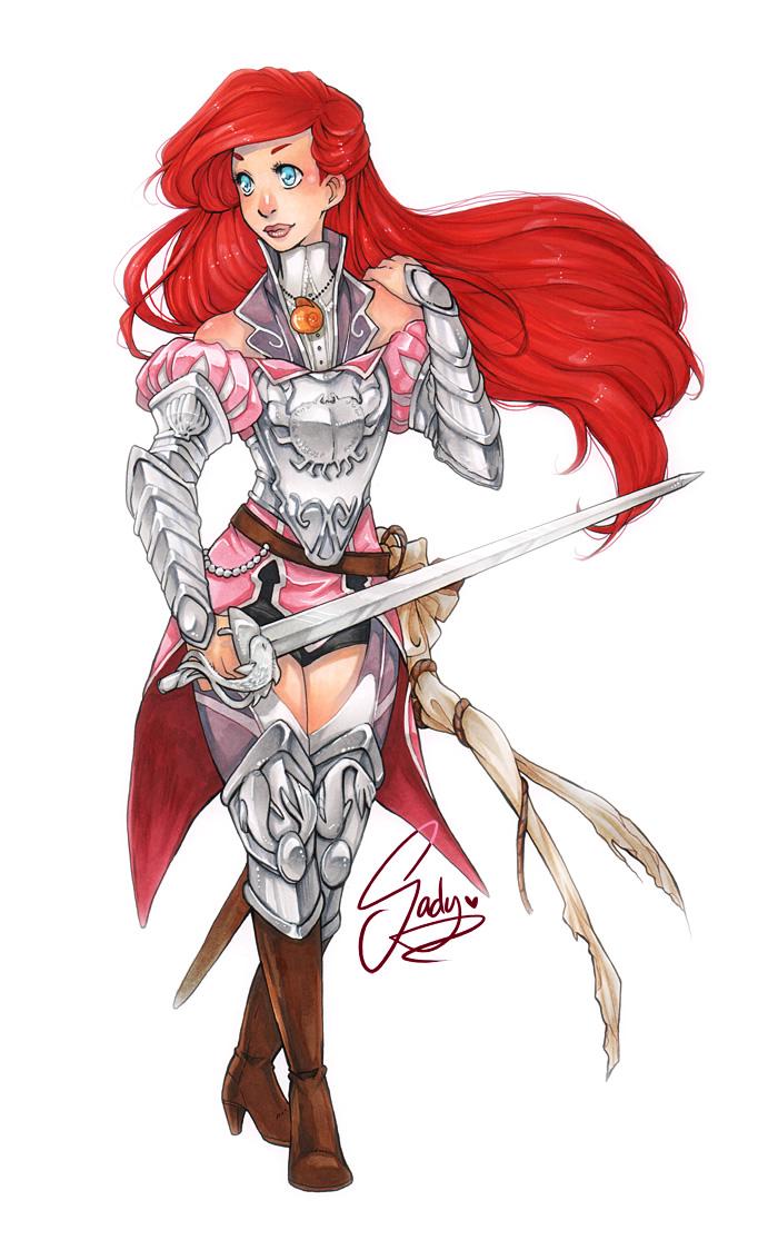 princesas disney medieval guerreiras 7