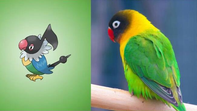 pokemons baseados em animais reais 12