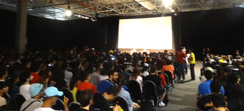 auditorio thunder comic con experience