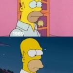 Personagens de desenhos animado no primeiro e último episódio