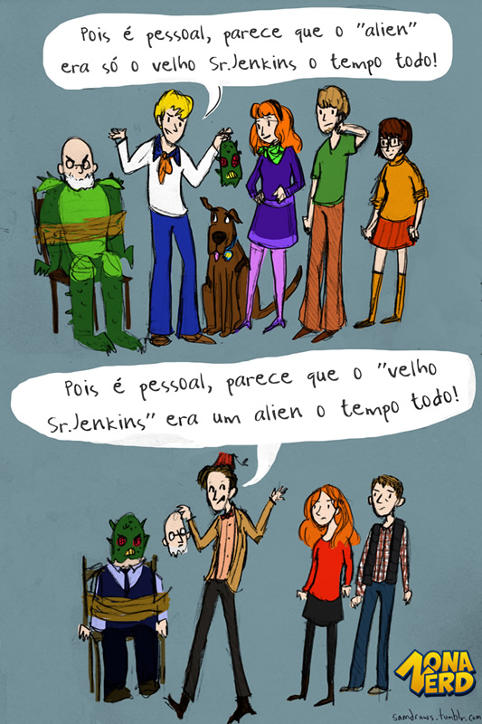 diferenca scooby doo doctor who
