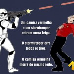 A grande batalha de Star Wars vs. Star Trek