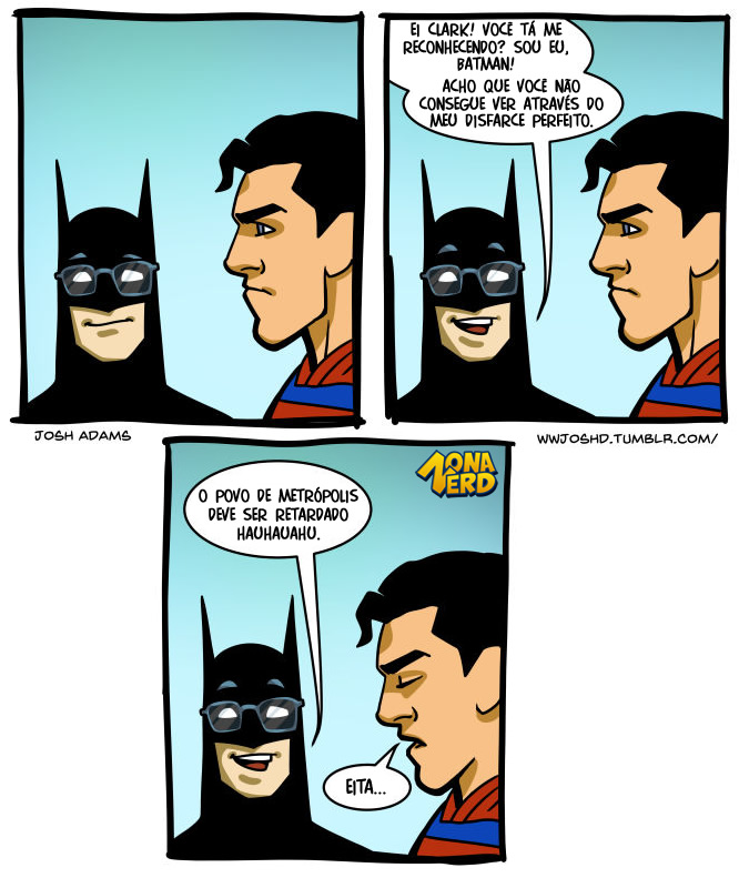 disfarce batman superman