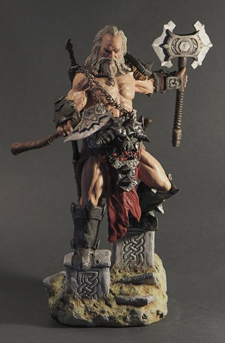 figuras custom diablo 3 03 barbarian