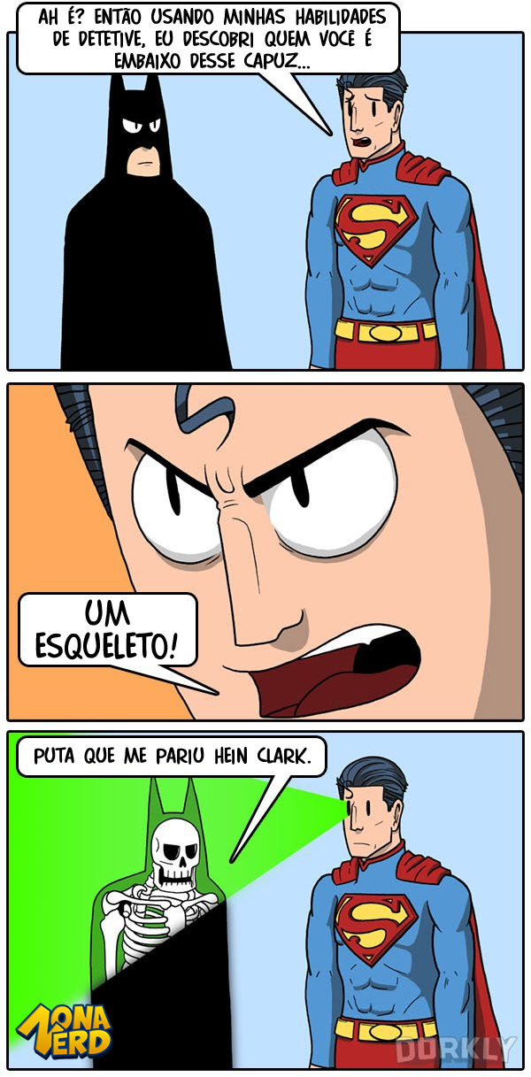 identidade batman superman 2