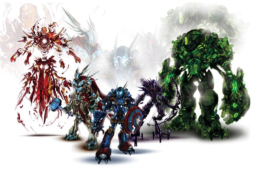 monstros mecanizados 01
