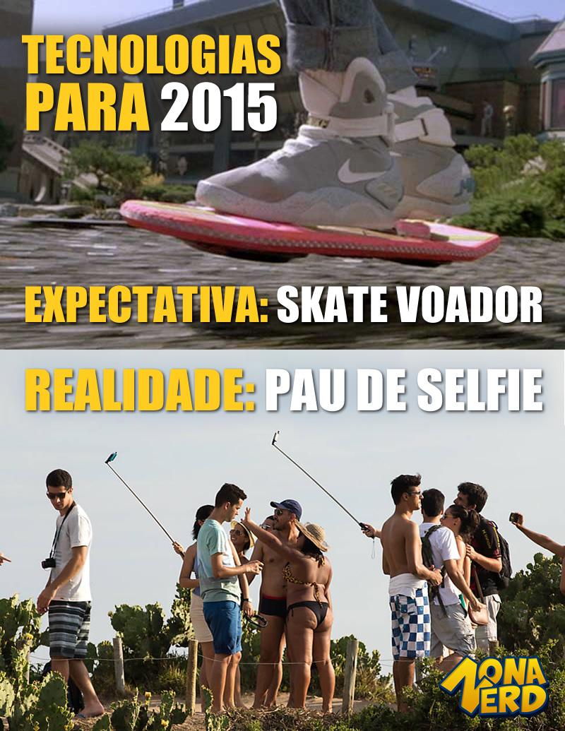 tecnologia 2015 pau de selfie