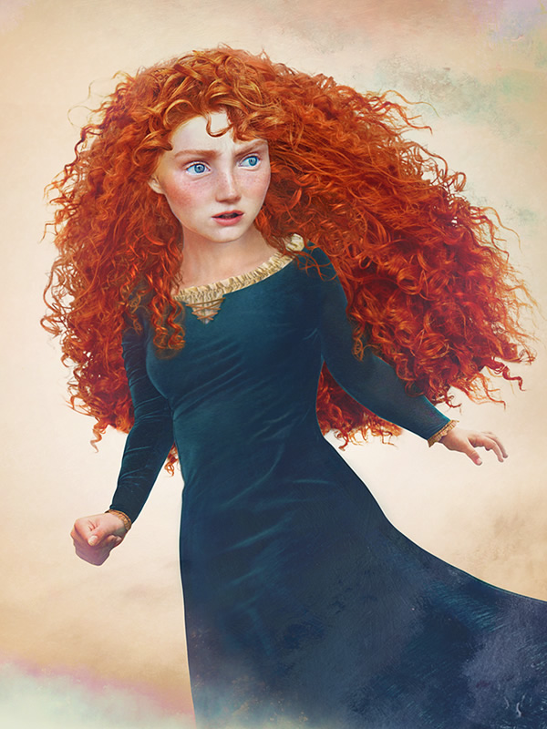 princesas disney vida real 03 merida