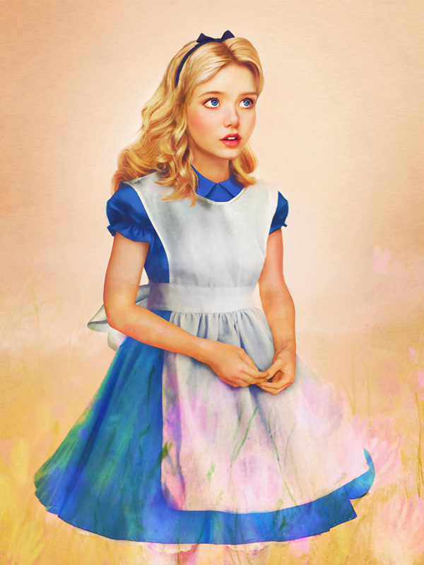 princesas disney vida real 16 alice