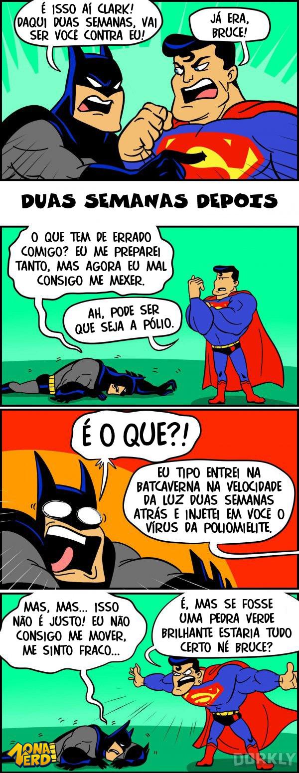 superman ganha do batman