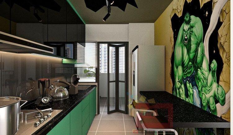 apartamento vingadores 3