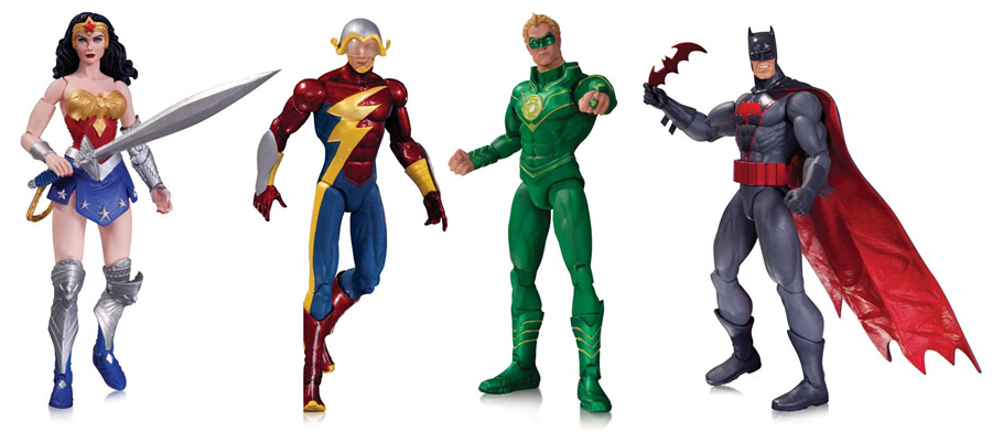 dc collectibles earth 2 action figures
