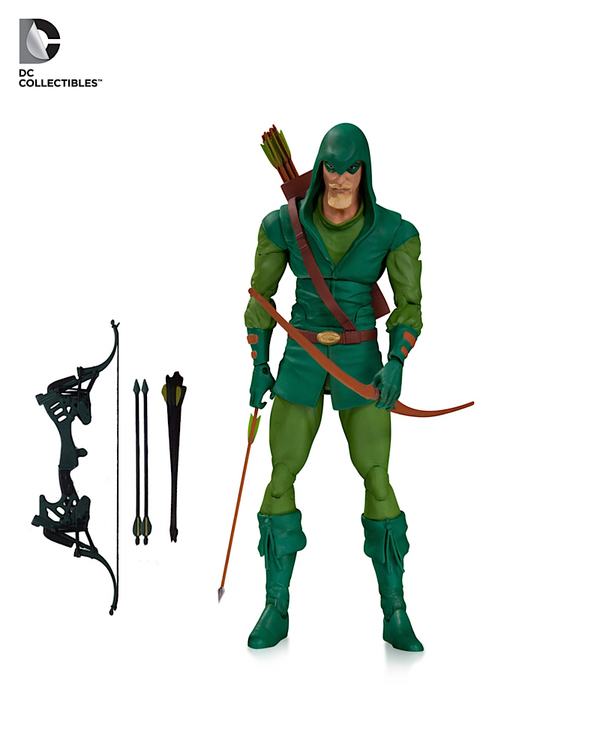 dc icons action figure 05 green arrow