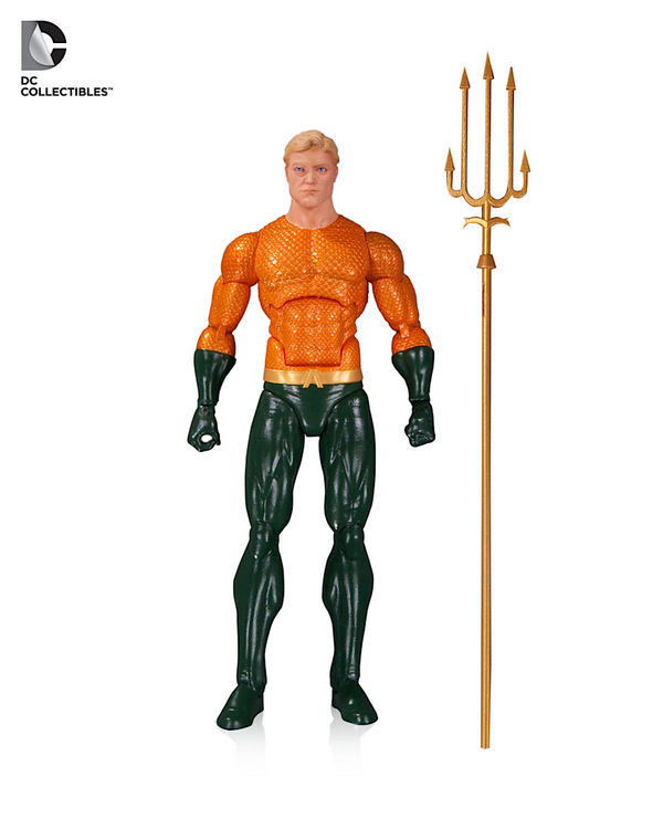 dc icons action figure 10 aquaman