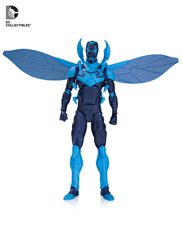 dc icons action figure 12 blue beetle