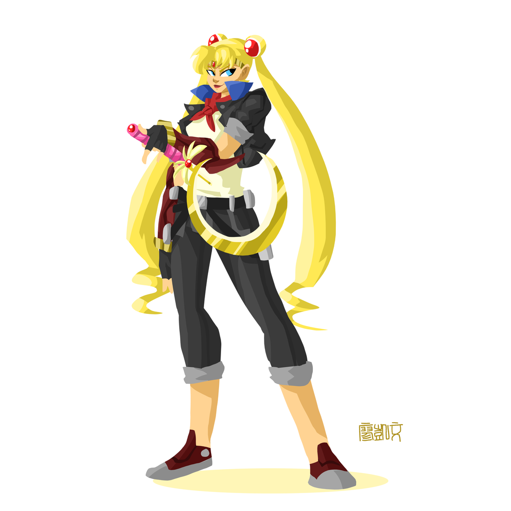 sailor moon urbana 02 serena