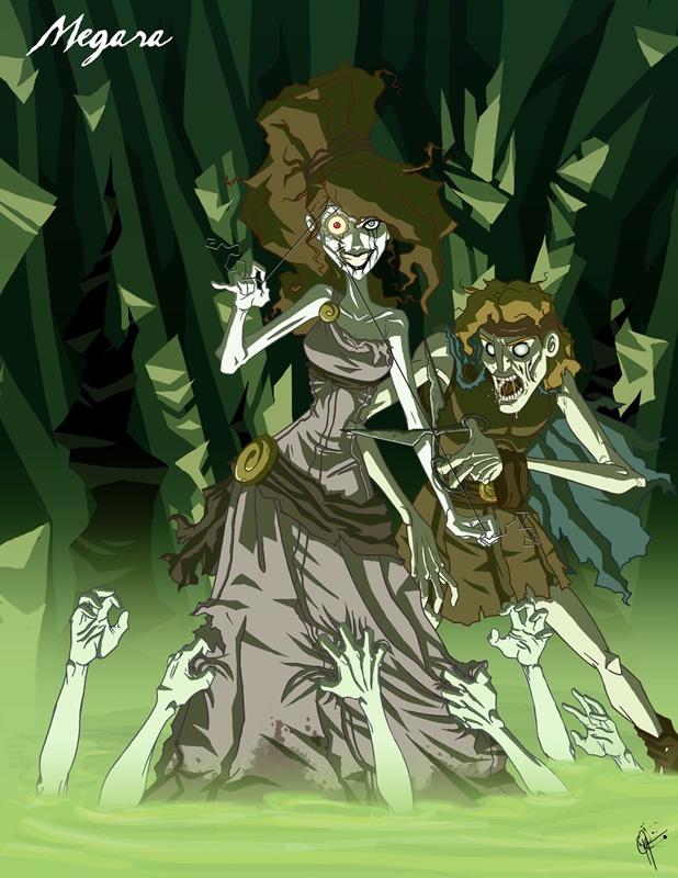 twisted princess 10 zona nerd megara