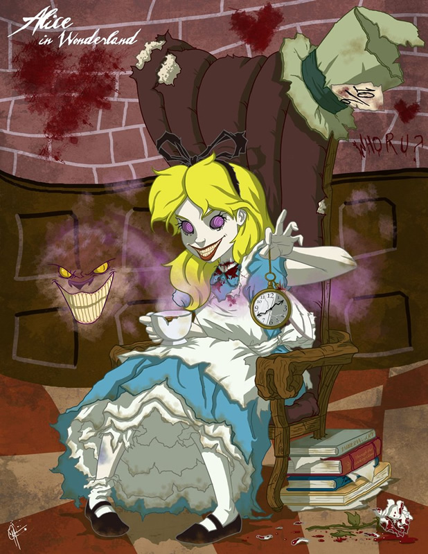 twisted princess 11 zona nerd alice