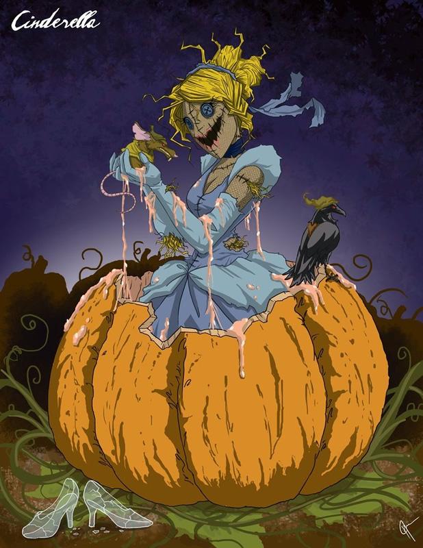 twisted princess 17 zona nerd cinderella