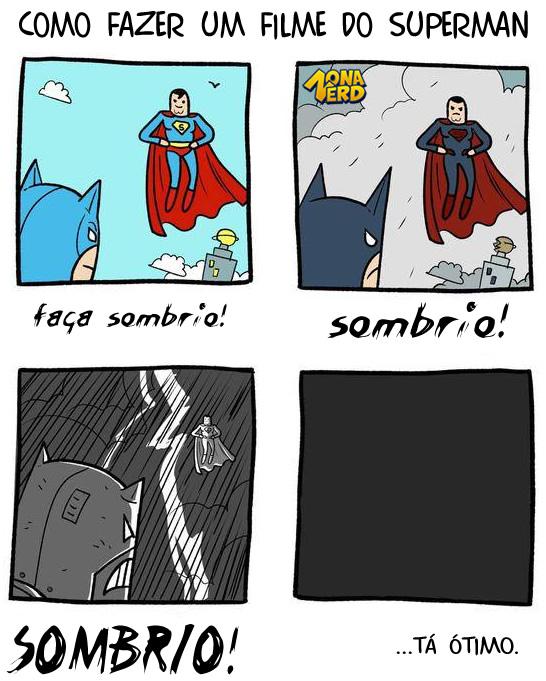 filme sombrio batman superman