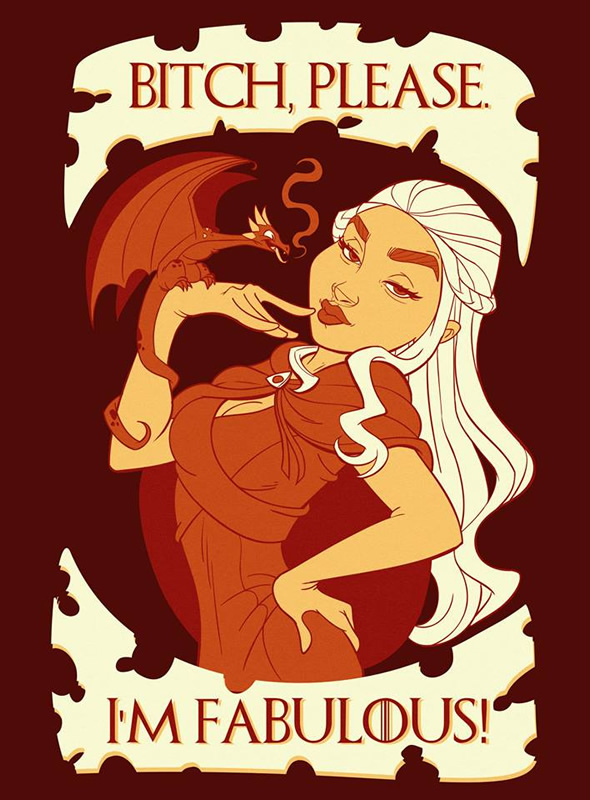 game of thrones disney 04 daenerys bitch