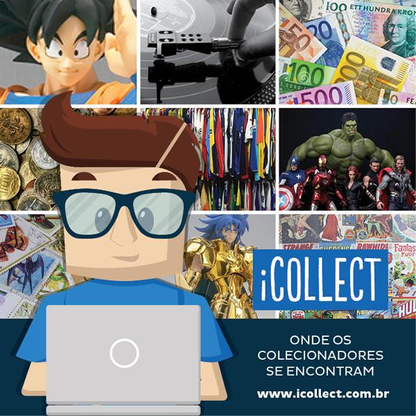 icollect zona nerd rede social colecionadores
