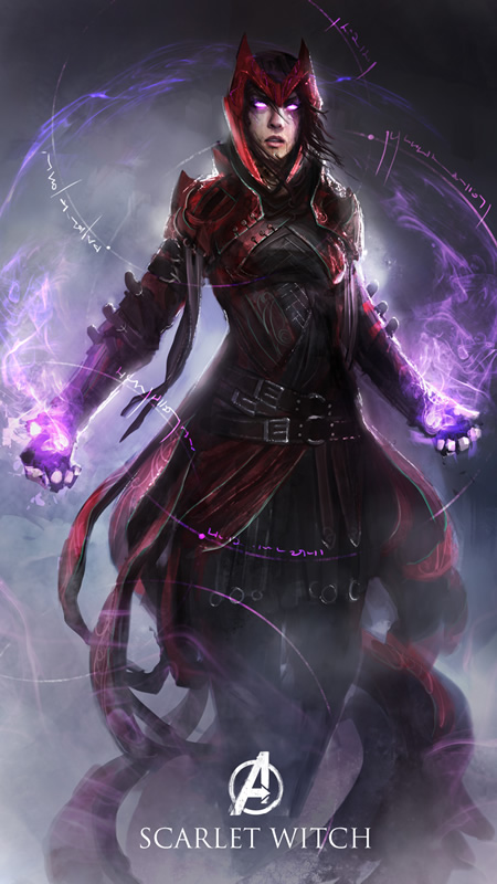 vingadores avengers magic rpg 07 scarlet witch