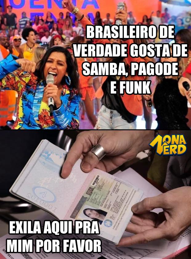 brasileiro de verdade samba funk pagode zona nerd