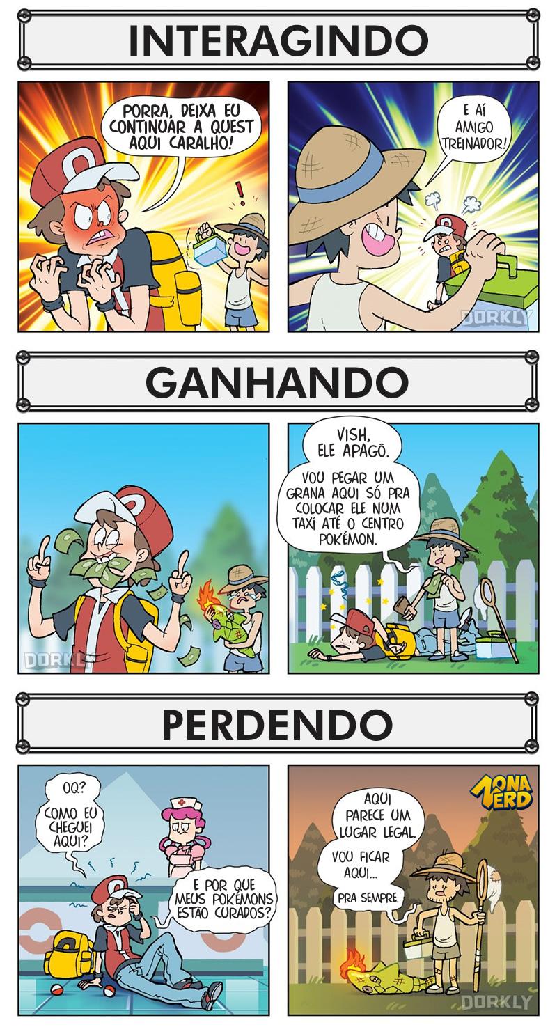 difereca pokemon jogador npc 2