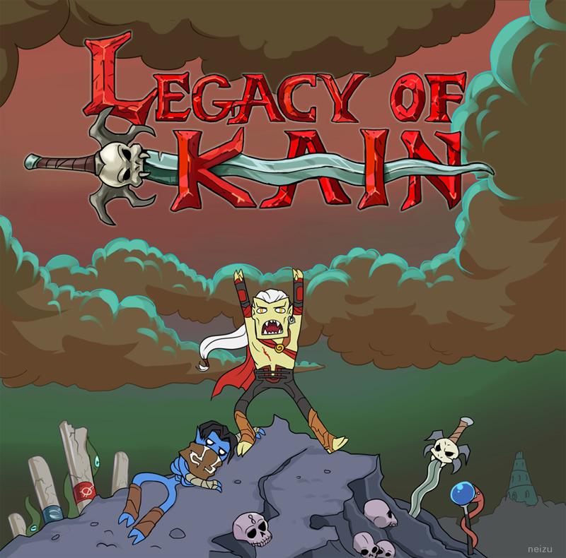 legacy of kain hora de aventura adventure time