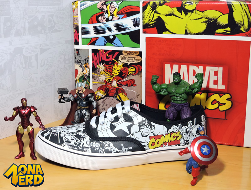 marvel tenis sugar shoes zona nerd