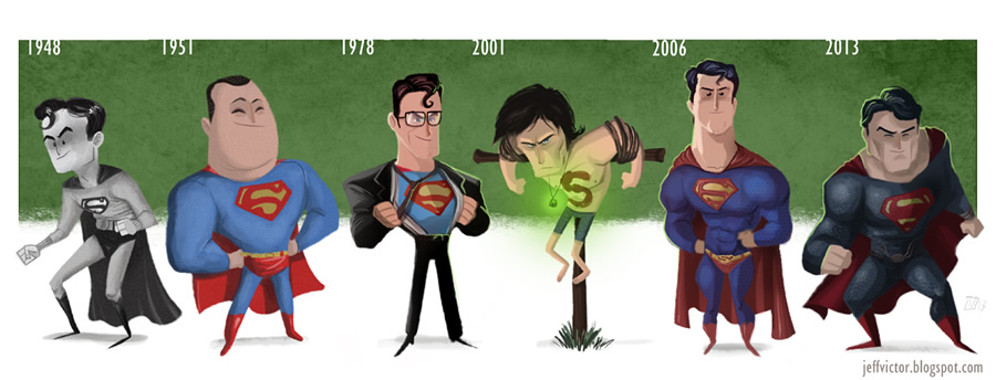 evolucao cultura pop 01 superman