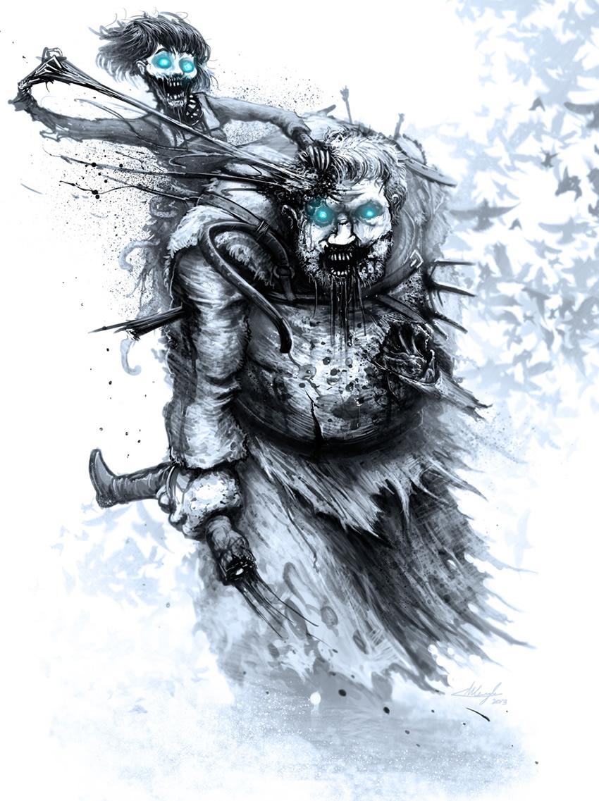 game of thrones perdessem white walker 07 bran stark hodor