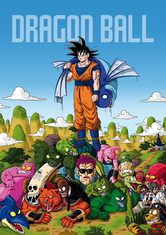 mortes dragon ball 01 goku
