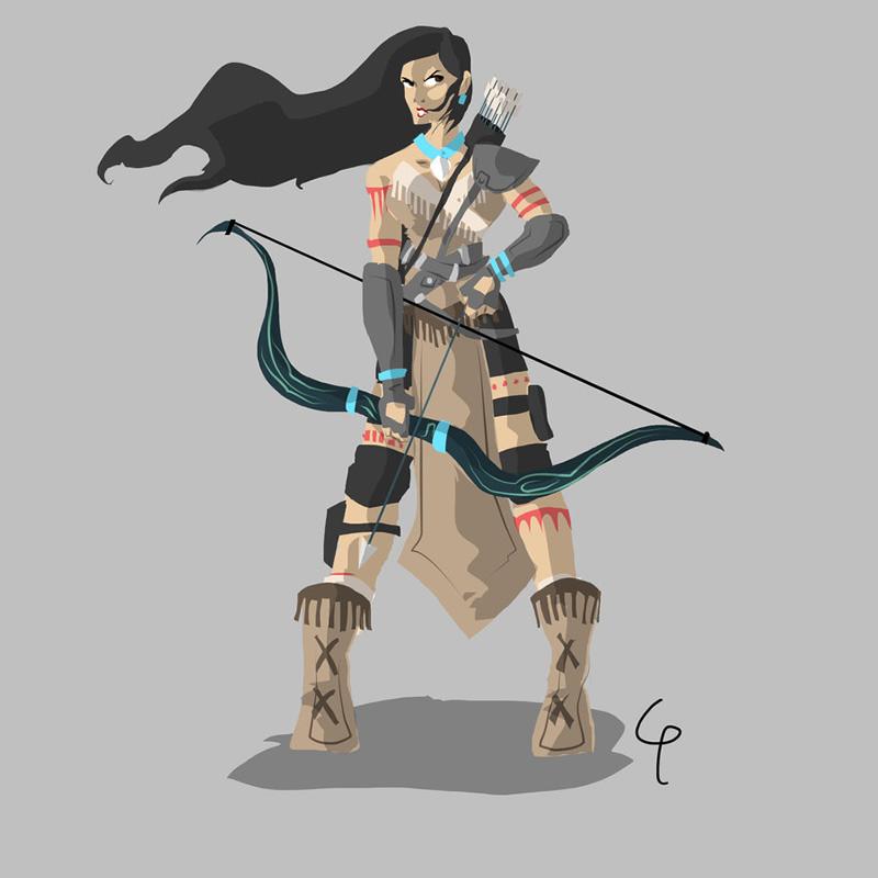 guerreios disney personagens guerra 04