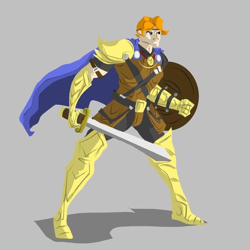 guerreios disney personagens guerra 09
