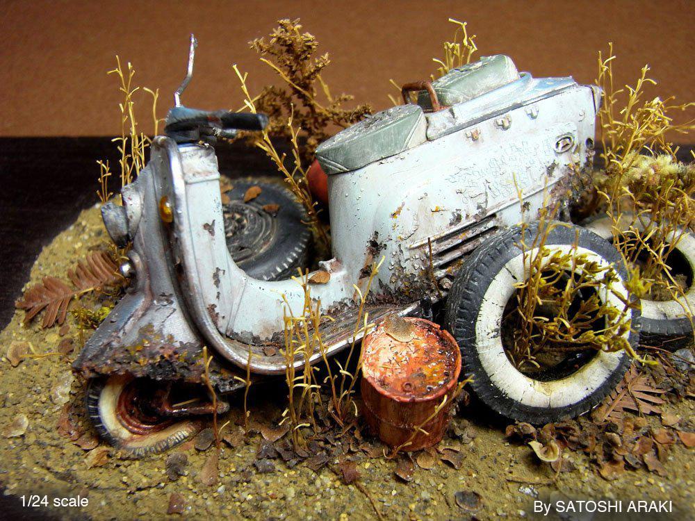 satoshi araki miniaturas diorama 05