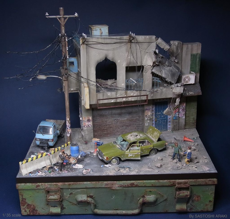 satoshi araki miniaturas diorama 06